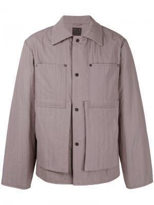 Легкая куртка на кнопках Craig Green. Цвет: розовый и фиолетовый