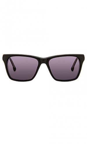 Солнцезащитные очки pelton Steven Alan. Цвет: черный