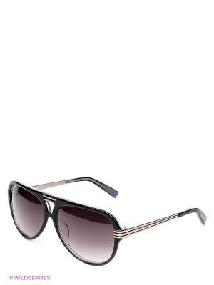 Солнцезащитные очки VW 751 03 Vivienne Westwood. Цвет: черный, коричневый