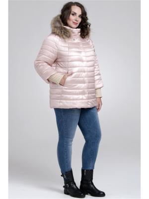 Куртка Modress. Цвет: бледно-розовый