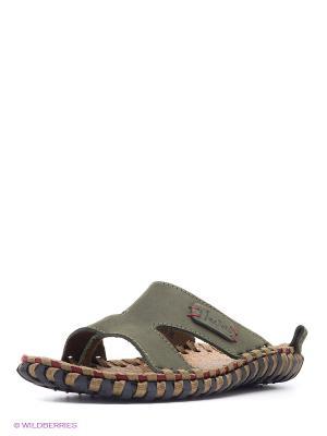 Пантолеты Nexpero. Цвет: зеленый
