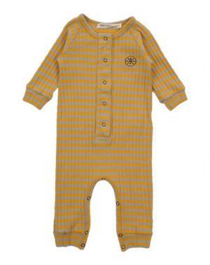 Детский комбинезон BOBO CHOSES. Цвет: желтый