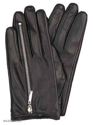 Перчатки женские с эффектом Touch Screen Marco Bonne`. Цвет: черный