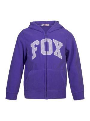 Толстовка FOX. Цвет: темно-фиолетовый
