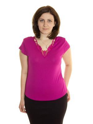 Блузка Siman Fashion. Цвет: сиреневый