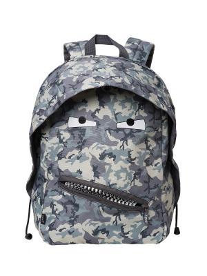 Рюкзак GRILLZ BACKPACKS ZIPIT. Цвет: хаки, светло-серый, темно-серый