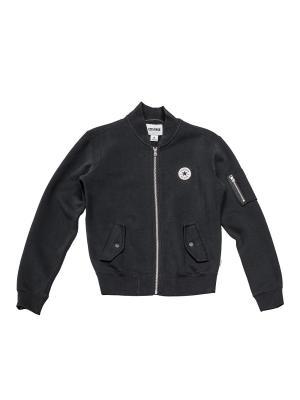 Куртка Core Ma 1 Bomber Converse. Цвет: черный
