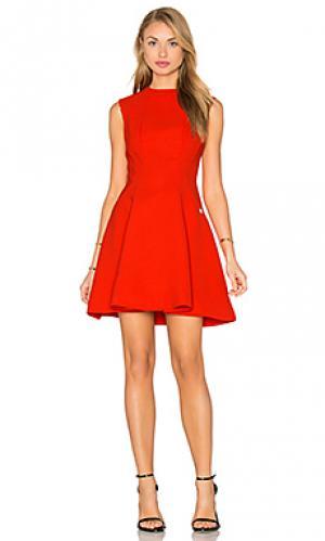 Платье viola Bronx and Banco. Цвет: красный