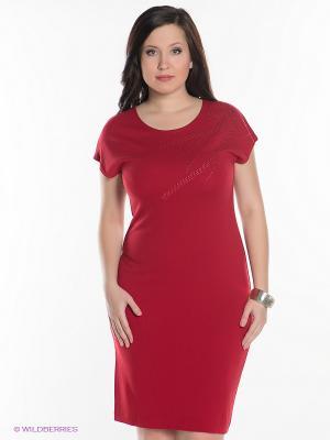 Платье Magnolica. Цвет: красный