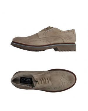 Обувь на шнурках LE CROWN. Цвет: бежевый