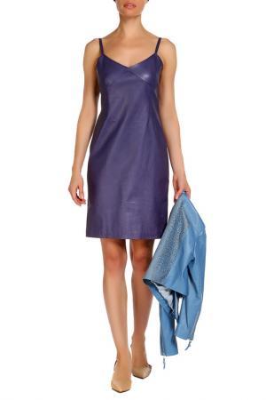 Платье Izeta. Цвет: фиолетовый
