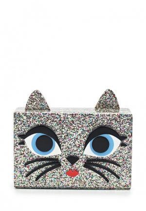 Клатч Karl Lagerfeld. Цвет: разноцветный