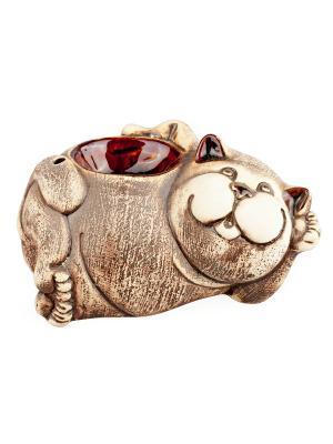 Аромалампа Кот Aztek. Цвет: серый, коричневый