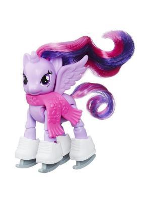 Пони Hasbro. Цвет: лиловый, белый