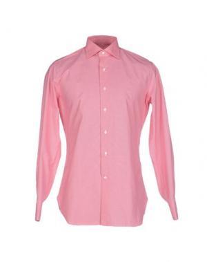Pубашка ALESSANDRO GHERARDI. Цвет: розовый