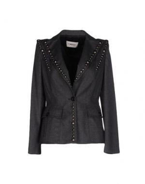 Пиджак TOMASO. Цвет: свинцово-серый