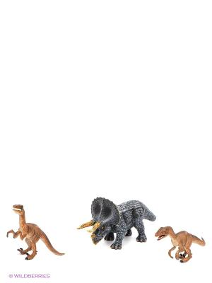 Набор фигурок Animal Planet. Динозавры MOJO. Цвет: серо-голубой, коричневый