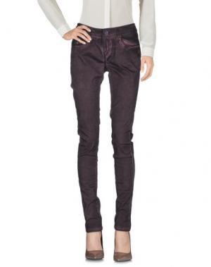 Повседневные брюки GARCIA JEANS. Цвет: баклажанный