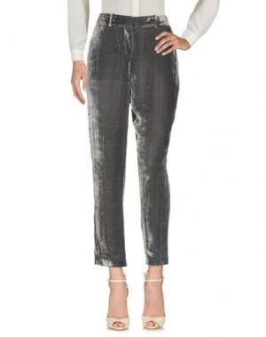 Повседневные брюки ELIE TAHARI. Цвет: свинцово-серый
