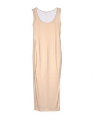 Длинное платье LA KORE. Цвет: золотистый