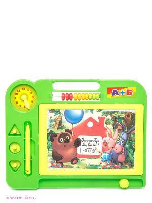 Доска для рисования Винни-Пух Играем вместе. Цвет: салатовый