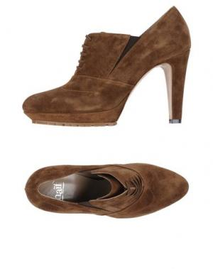 Обувь на шнурках NAIF. Цвет: коричневый