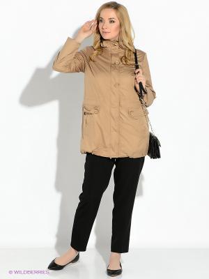 Куртка Lawine. Цвет: светло-коричневый