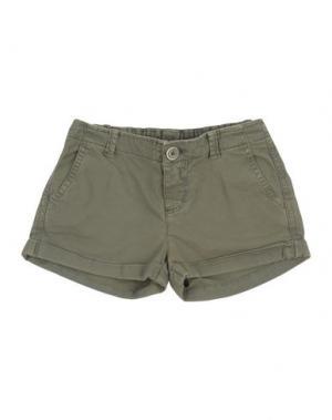 Повседневные шорты MANILA GRACE DENIM. Цвет: зеленый-милитари