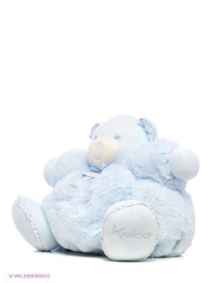 Мишка большой голубой, коллекция Жемчуг Kaloo. Цвет: голубой