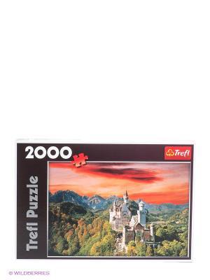 Пазл Замок Нойшванштайн, Бавария Trefl. Цвет: красный, белый, черный