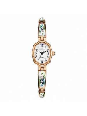 Часы Mikhail Moskvin. Цвет: светло-зеленый, белый, золотистый