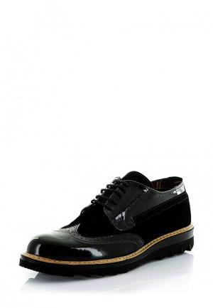 Ботинки Tonny Black. Цвет: черный