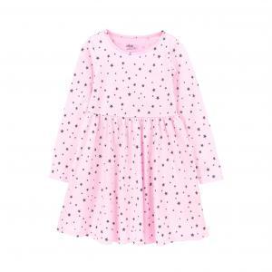 Платье ELLOS. Цвет: в полоску,розовый/розовый рисунок,темно-серый меланж
