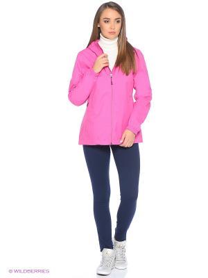 Куртка The North Face. Цвет: розовый