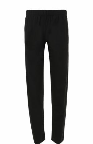 Домашние брюки из смеси хлопка и вискозы La Perla. Цвет: черный