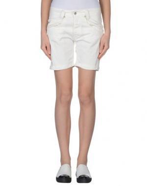 Повседневные шорты PLEASE. Цвет: белый