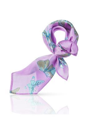 Платок MICHEL KATANA`. Цвет: фиолетовый, бирюзовый