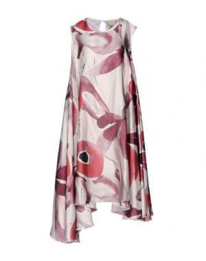 Платье до колена JIJIL. Цвет: пурпурный