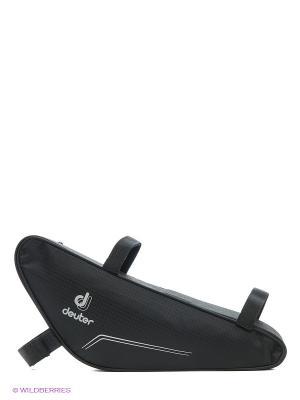Сумка Deuter front triangle bag. Цвет: черный