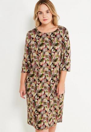Платье Intikoma. Цвет: разноцветный
