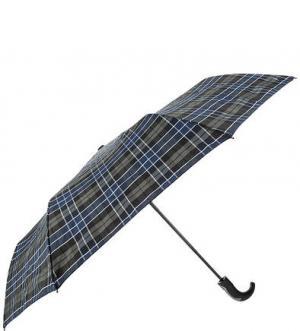 Складной зонт с куполом в клетку FLIORAJ. Цвет: хаки