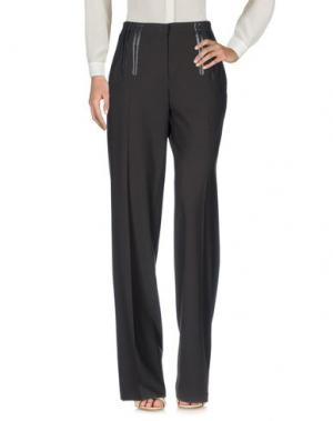 Повседневные брюки BARBARA BUI. Цвет: темно-коричневый