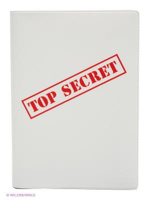 Обложка для автодокументов Top Secret Mitya Veselkov. Цвет: белый, красный