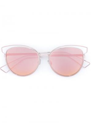 Солнцезащитные очки Sideral 2 Dior Eyewear. Цвет: металлический