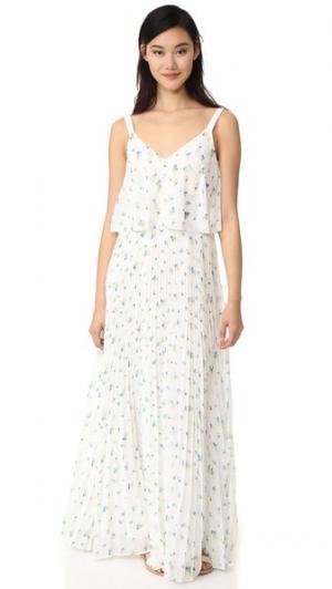 Макси-платье с принтом Grey Jason Wu. Цвет: белый мульти