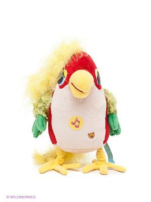 Мягкая игрушка Попугай 38 попугаев Мульти-пульти. Цвет: красный