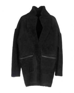 Пальто SPRUNG FRERES. Цвет: свинцово-серый