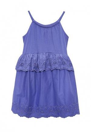 Сарафан Gap. Цвет: фиолетовый