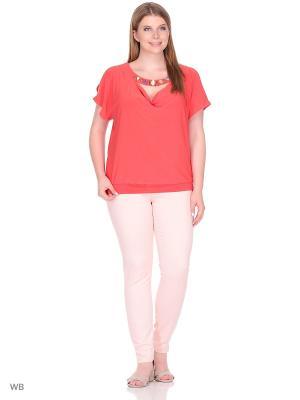 Блузка МариЧи. Цвет: рыжий