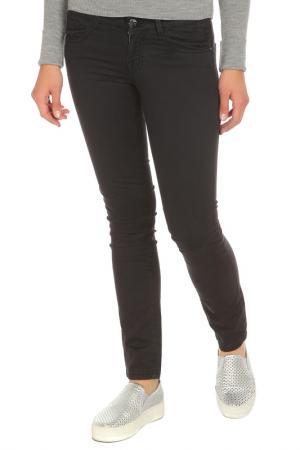 Зауженные брюки с застежкой на молнию Gaudi. Цвет: 2001, черный